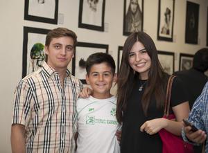 11052016 Max, Miguel y Sofía.