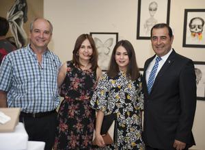 11052016 Ángel Sesma, Alejandra Arenas, Brenda Díaz y Martín López.