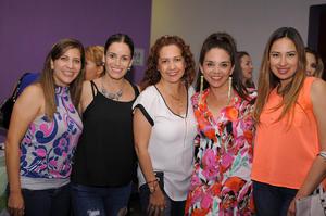 13052016 Marce, Anilú, Claudia, Lizzy y Priscila.