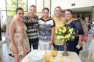 27052016 Estefanía, Blanca, Ceci, Sayda y Blanca.