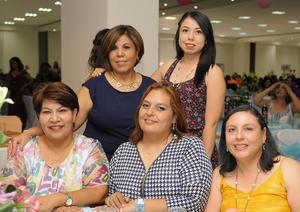 29052016 EDUCADORAS.  Luly, Sandra, Irene, Rosy y Norma.