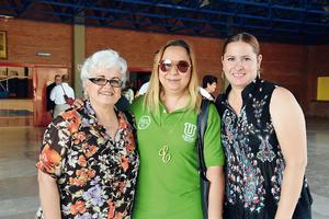 15052016 Carmen Escobedo, Elsa Guerrero y Alejandra Pacheco.