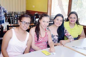 15052016 Carmen, Damiana, Claudia y Andrea.