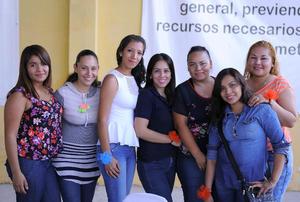 13052016 Edna, Ángeles, Jazmín, Itzel, Estefanía, Isabel y Berenice.