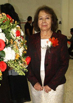 23052016 La maestra Lucita Ríos Orta cumplió 50 años de servicio.