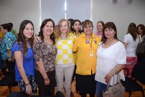 31052016 Rosa Martha, Karina, Marce, Romi, Susy y Perla.