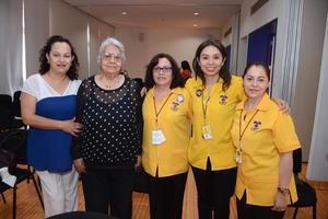 31052016 Elsa, Consuelo, Susy, Lucy y Romi.