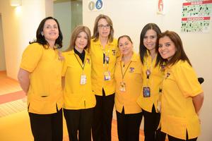 31052016 Lorena, Olga, Mayela, Rocío y Guille.