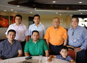 07052016 AMENA REUNIóN.  Aristóteles Rangel, Víctor Estrada, José Manuel Rangel, Cuauhtémoc Rangel, Fernando Rangel, Jesús Méndez y Fernando Rangel.
