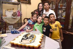 03052016 FELICIDADES.  Diego Armando Fernández en su fiesta por su cumpleaños número 6.