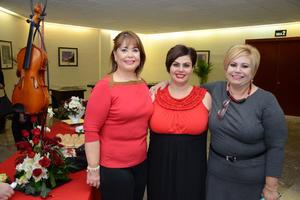 14052016 JARDINERAS.  Lupita, Abril y Marisa.