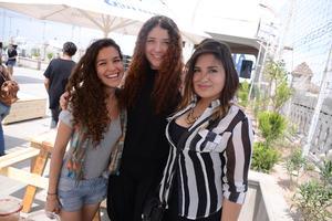 29052016 AMIGAS.  Grisel, Michelle y Hatziri.