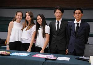 16052016 Amparo, Ingrid, Sofía, Kevin y Diego.