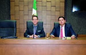 15052016 Lic. Héctor de la Cruz Cortez y Mtro. Luis Fernando Hernández Rivera.
