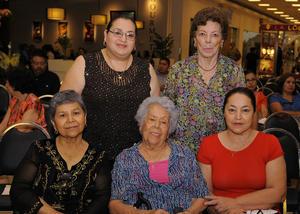 18052016 Cecy, Lupita, Gloria, Erika y Armida.