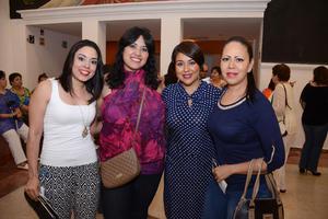 20052016 María, Erika, Lulú y Sandra.