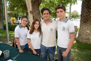 31052016 Fernanda, Michelle, Ángel y Eduardo.