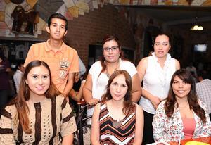 20052016 Ángeles Aguirre, Tania Morales, Elena Rivera, Fátima Castillo, Guillermo del Campo, Flavio Flores y Ramón Campos.