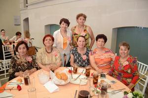 26052016 Guille, Nena, Vivis, María Teresa, Graciela, Rosy y Gaby.