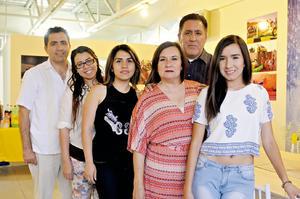 29052016 Jorge, Mónica, Montserrat, Berenice, Gonzalo y Fernanda.