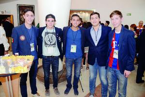 15052016 Sergio, Rodrigo, Adrián, Roberto y David.