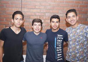 09052016 Juan, Héctor, Aurelio y Héctor.