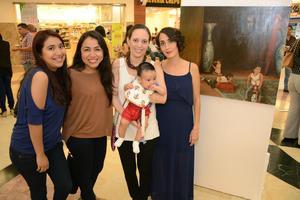 11052016 Lupita, Óscar, Alejandra y Lucy.