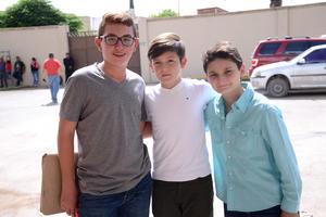 25052016 Jaime, Diego y Enrique.
