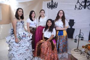 25052016 Astrid, Andrea, Paola, Sofía y Sofía.