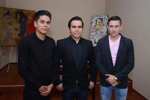 04052016 Ismael, Monserrat y Héctor.