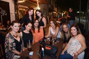 12052016 Diana, Carolina, Fabiola, Mayra, Tefa, Mone, Aurora y Cecy.