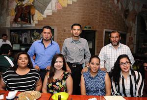 20052016 Sandra, Cecilia, Luis, Javier, Refugio, Iván, Pedro, Manuel y José.