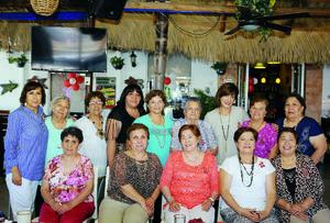 16052016 FESTEJO DEL DíA DE LAS MADRES.  Integrantes del grupo Discípulas de María, en conocido restaurante de la ciudad.