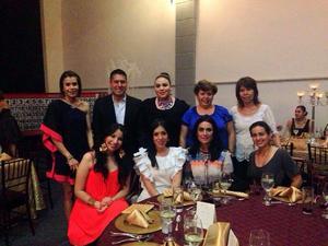 22052016 FESTEJO DEL DíA DEL MAESTRO.  Ivonne, Fernando, Marianita, Delfina, Maye, Martha, Tania, Esther y Dulce.