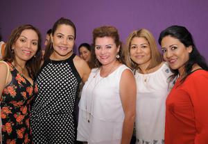 14052016 Luly, Adriana, Nena, Alma y Adriana.