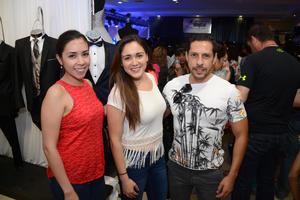28052016 ASISTEN A EXPO.  Lorena, Andrea y Francisco.