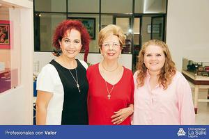 29052016 EN RECIENTE EVENTO.  Ivonne Escalera, Aurorita Máynez y Velia Rodríguez.