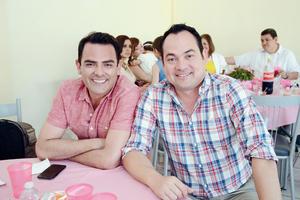 15052016 AMIGOS.  Flavio y Toño.