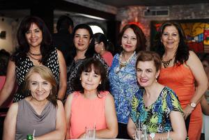 19052016 Armida, Vicky, Angélica, Dinorah, Lulú, Mary y Marisol.