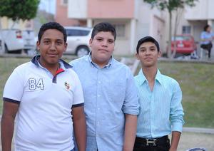 03052016 José, Mariano y Diego.