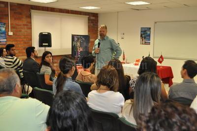Jorge Castañeda estuvo de visita en Torreón.