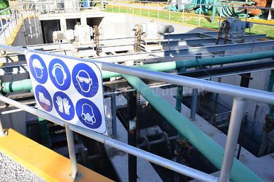 Simas fue autorizado por un juez federal para la operación técnica de la Planta Tratadora de Aguas Residuales.