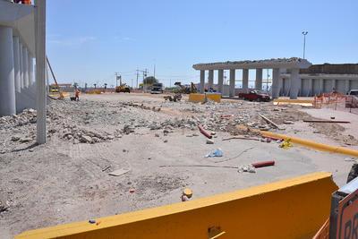 Se generaron 750 toneladas de escombro.