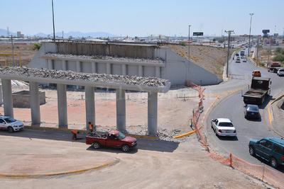 Terminaron los trabajos de demolición del paso superior Periférico-Villa Florida que colapsó el pasado viernes 13 de mayo.