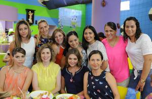 Cecy, Marce, Meche, Ana, Karla, Ana, Guille, Claudia, Miriam, Blanca y Elideth