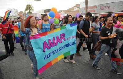 El motivo de la marcha es exigir respeto a sus derechos y preferencias sexuales.