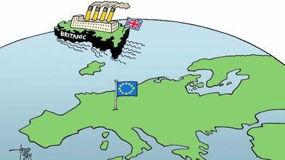 Y la salida de Reino Unido al parecer, le caló a más de uno en Europa...