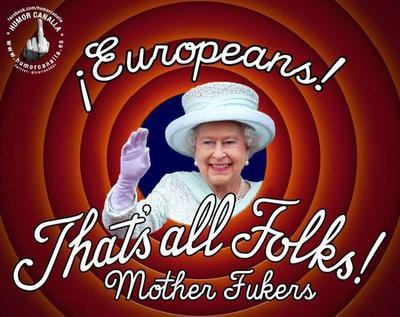 ¡Esto es todo amigos!, eso pudo haber dicho la reina, tal vez en su mente al menos...