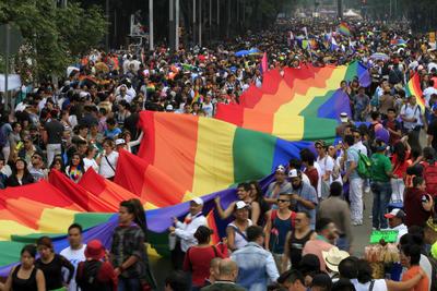 Miles de personas se reunieron en la Ciudad de México en la marcha.