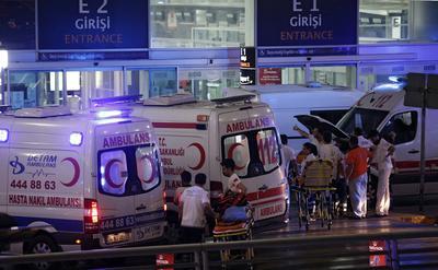 Durante el atentado, se reportan hasta el momento 28 muertos y más de 60 heridos.